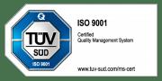 Zertiiziert in 2015 nach ISO EN 9100