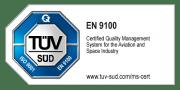 Zertiiziert in 2018 nach ISO EN 9100