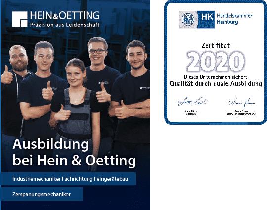 Duale Ausbildung bei Hein & Oetting