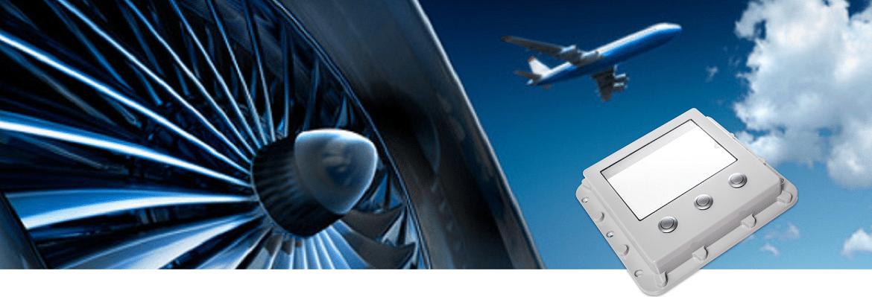Bedienpanel für die Kontrolle des Abwassersystems im A380