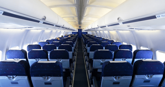 Bedienpanel für die Flugzeugkabine