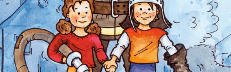 Hein & Oetting fördert Malbücher und Arbeitsbücher
